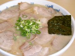 岡本中華 中華そば 肉玉子入り 大/850円