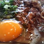 ラーメン東大 生卵サービス