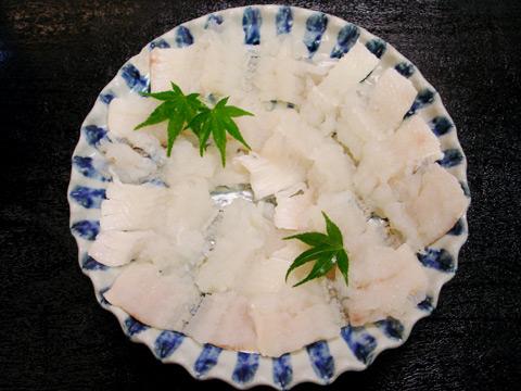 日本料理 三楽 鱧鍋