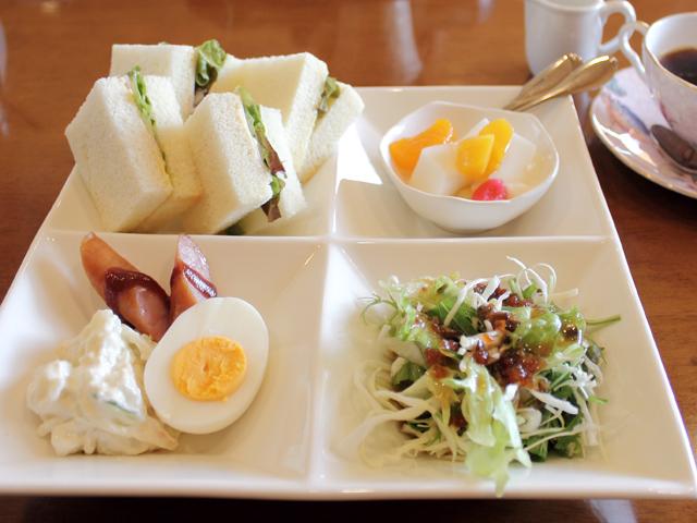 サンドイッチモーニング