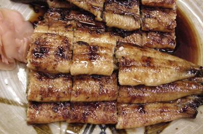 三平のうなぎ料理